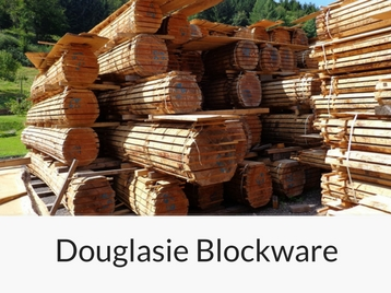 douglasie-blockware