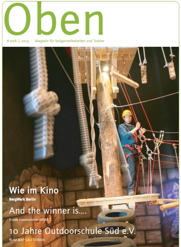 Holzmasten für Klettergärten Douglasienmasten