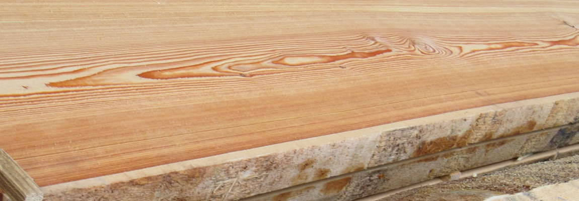 Blockware Lärche Lärchenschnittholz